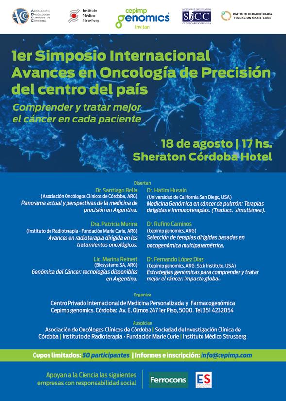 Primer Simposio de Oncología de Precisión del Centro del País